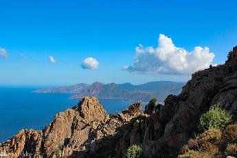Calanques de Piana på Korsika