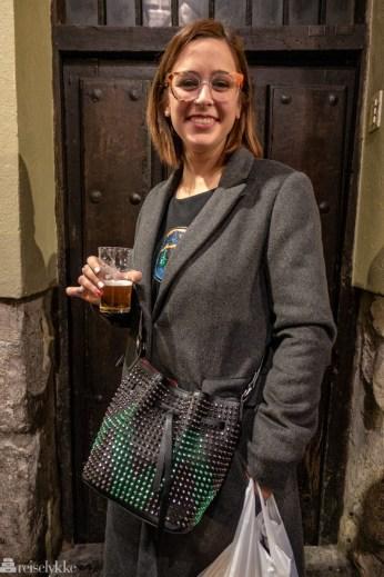 Christina fra Andalucia på besøk i Valladolid