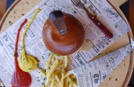Burger, Santorini