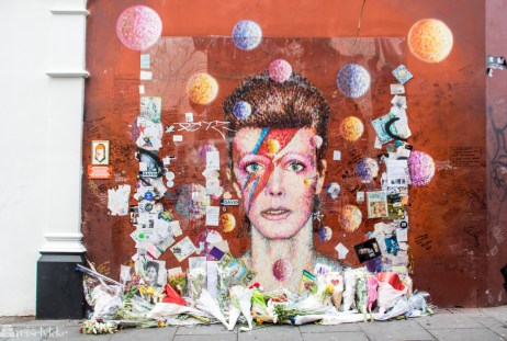 David Bowie Memorial, Brixton