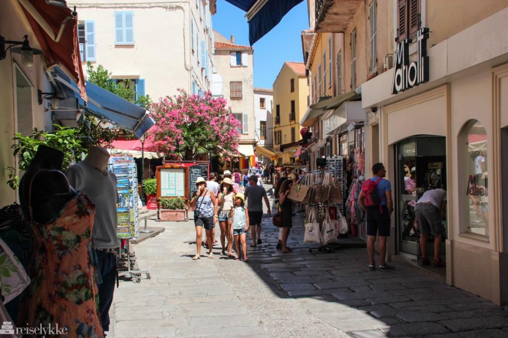 Feriebyen Calvi på Korsika
