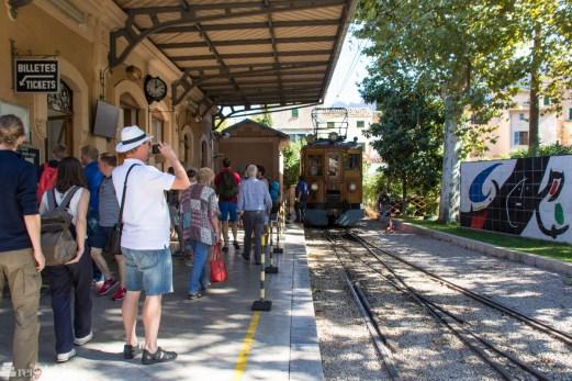 Fototid togstasjon i Sollér