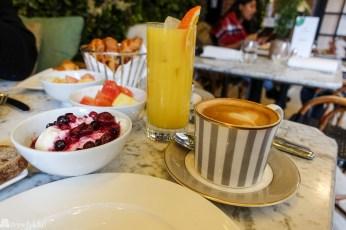 Frokost på Dalloway Terrace, Hotel Bloomsbury