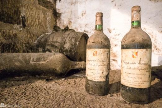Gamle vinflasker, CVNE, La Rioja