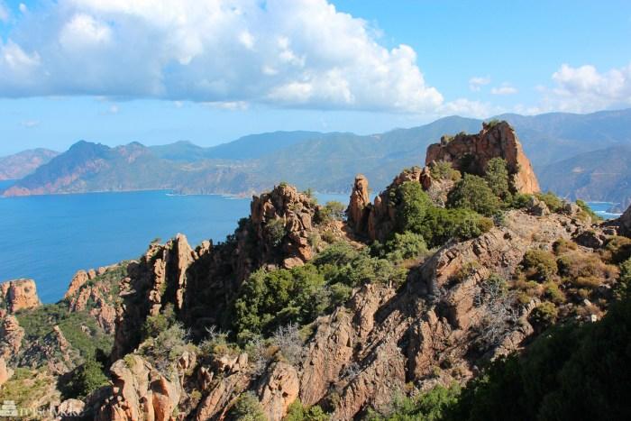Calanques de Piana - fjell på Korsika