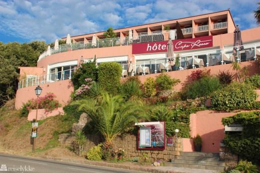 Hotel Capo Rosso fasade