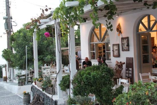 Bar i Pyrgos, Santorini