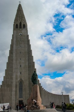 Hallgrimur-kirken i Reykjavik