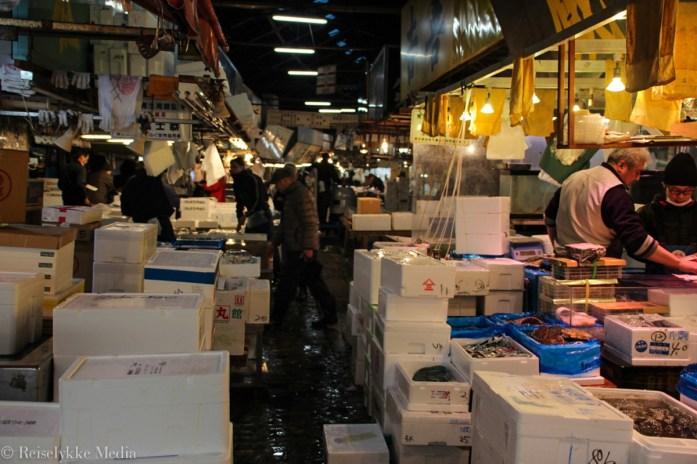 Fiskemarkedet i Tokyo