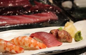 Gode restauranter i Tokyo: bilde fra sushirestaurant i Ginza