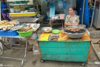 Vietnam: Matmarked på Phu Cuoq