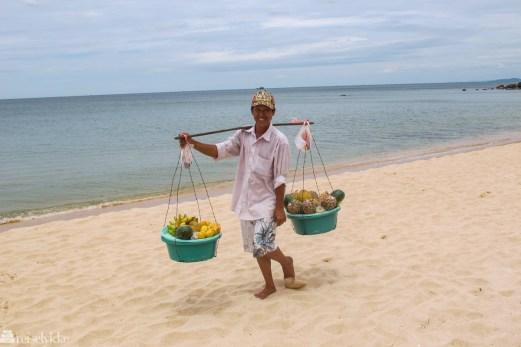 Vietnam: Fruktselger på Phu Cuoq