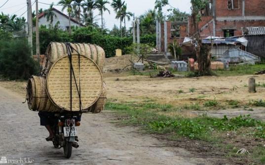 Vietnam: overfylt moped