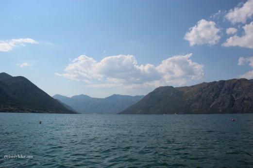 Kotor-bukta i Montenegro
