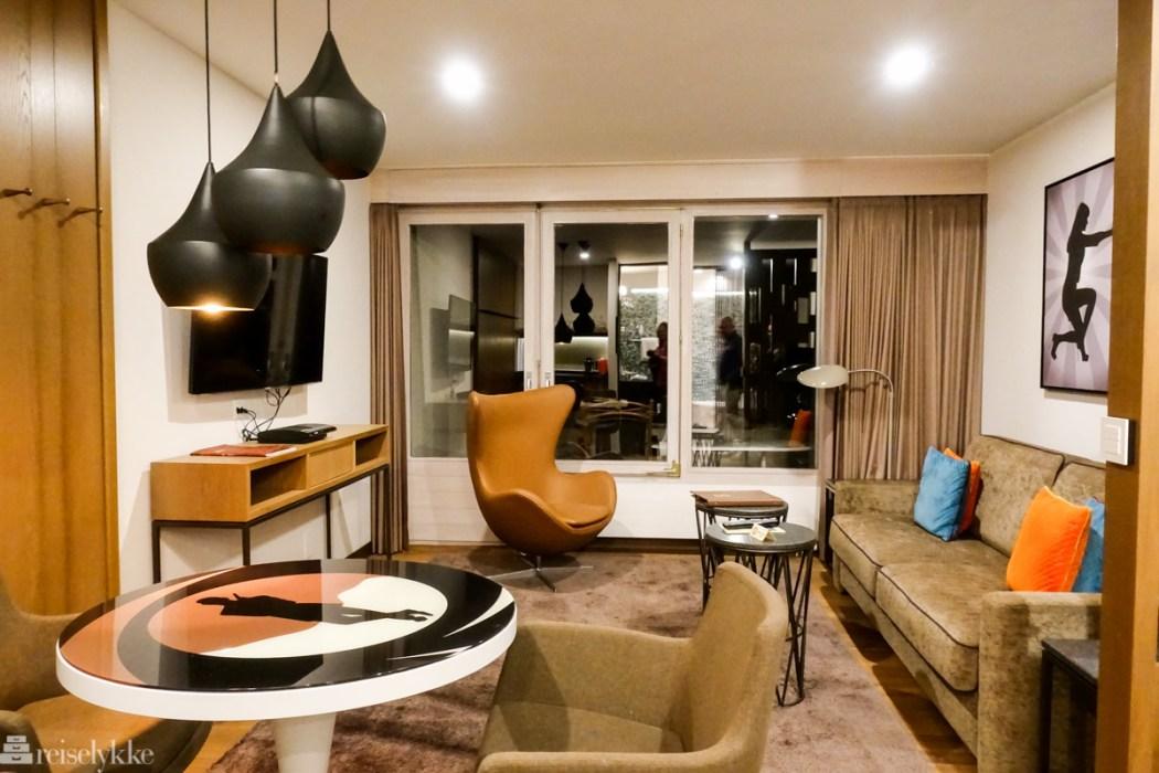 James Bond suite på Hotel Eiger