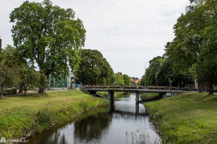 Langs elven i Karlstad