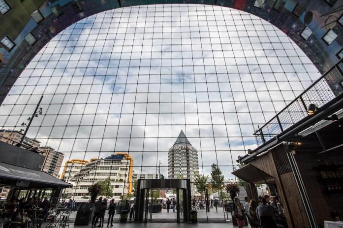 Markthal Rotterdam glassfasade