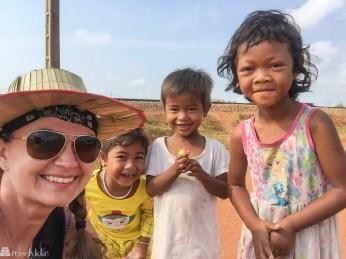 Møte med barna i Kambodsja