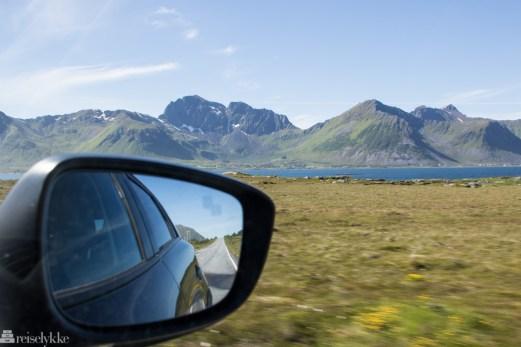 På biltur i Lofoten
