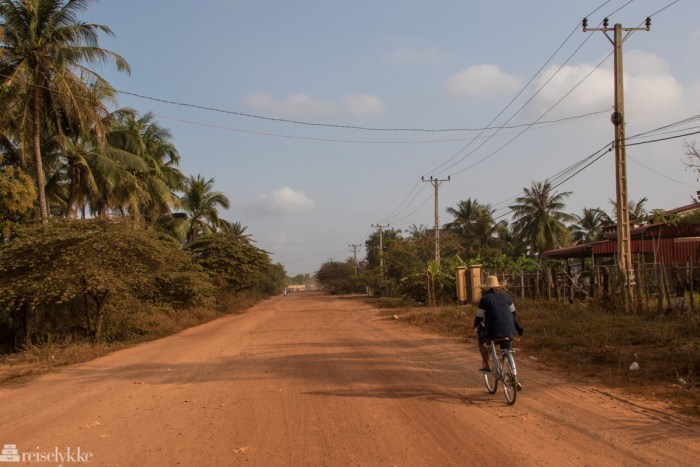 På sykkeltur i Kampot