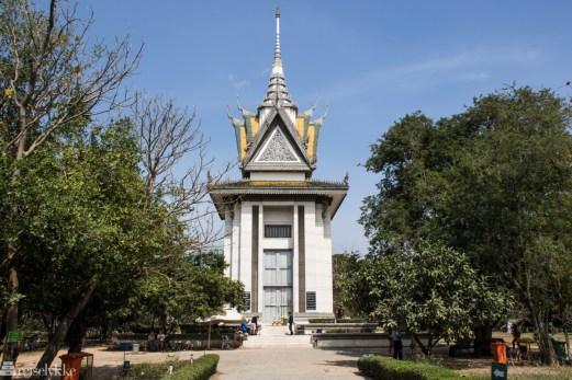 Pagoda, Killing Fields, Phnom Penh