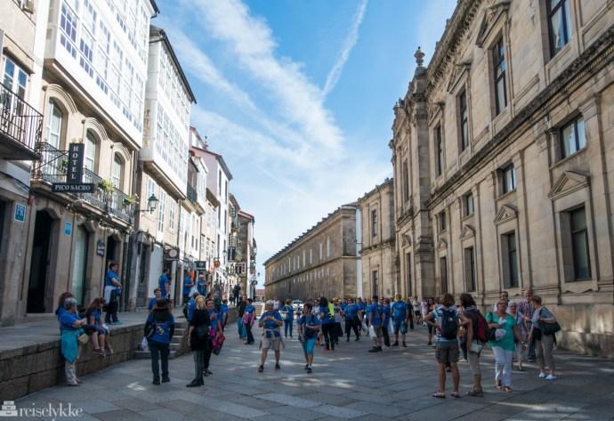 Pilegrimer i Santiago de Compostela 1