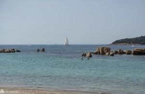 Plage du Santa Giulia Korsika