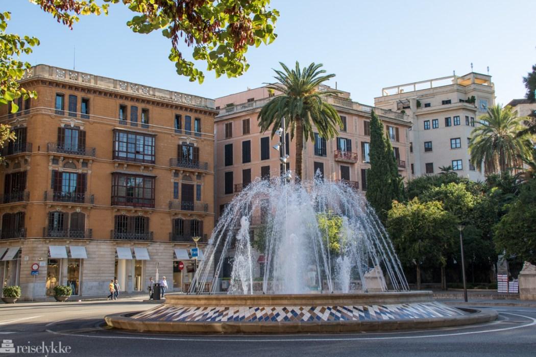 Plaza de la Reina Palma Mallorca