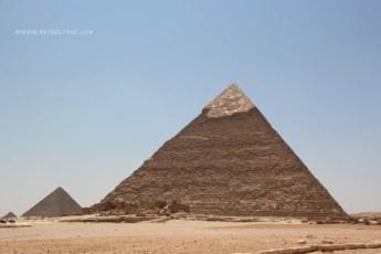 Keopspyramiden i Giza Foto: Mette S. Fjeldheim