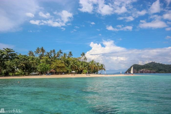 Reiseguide til Thailand - bilde av sandstrand, øy og palmer