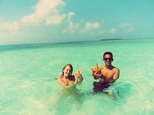 sea, water, beach, couple
