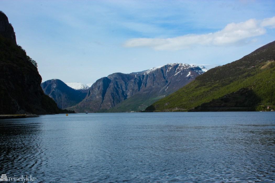 Sognefjorden sett fra Flåm
