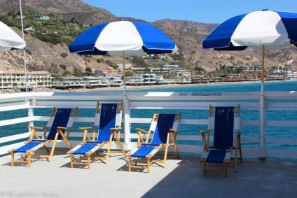 Soldekk på Malibu Pier