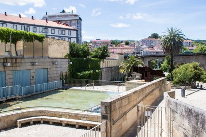 Spa-byen Ourense i Galicia