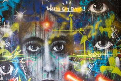 Street art ved B6 i Paris