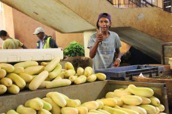 På markedet i Port Louis Foto: Reiselykke