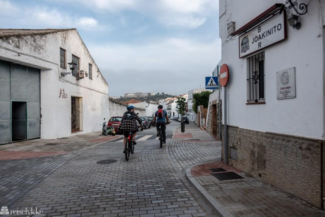 Sykkeltur i Aracena