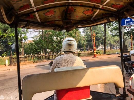 Tuktuktur til Angkor