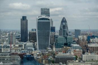 Utsikt fra The Shard, London