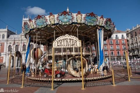 Karusell i Valladolid