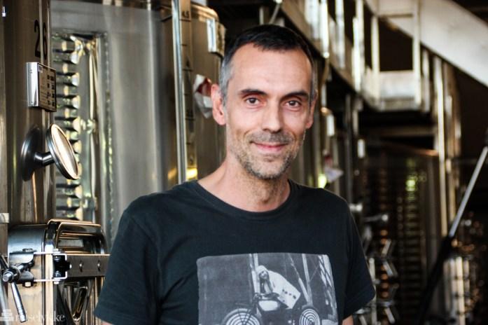 Vinmaker Jordi Foraster ved El Llorat