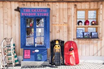 Window store in Gimmelwald