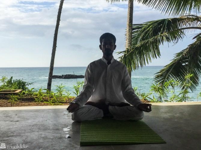 Yoga på Anantara Peace Haven: yogamaster