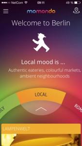 Momondo Places app