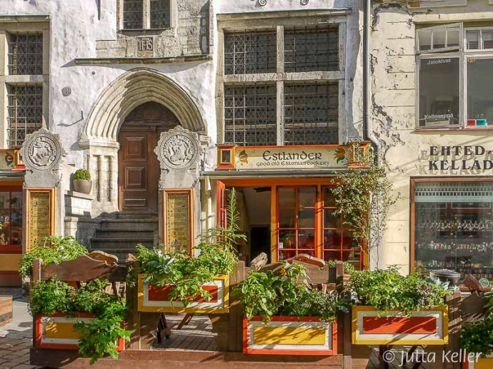 """Altehrwürdiges Restaurant """"Estlander"""" in Tallinn"""