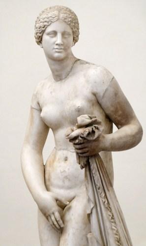 Aphrodite von Knidos der Sammlung Ludovisi, Römische Marmorkopie. © Marie-Lan Nguyen