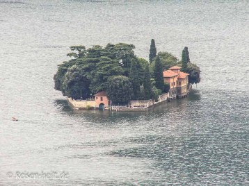 So sieht die Isola San Paolo ohne Piers aus.