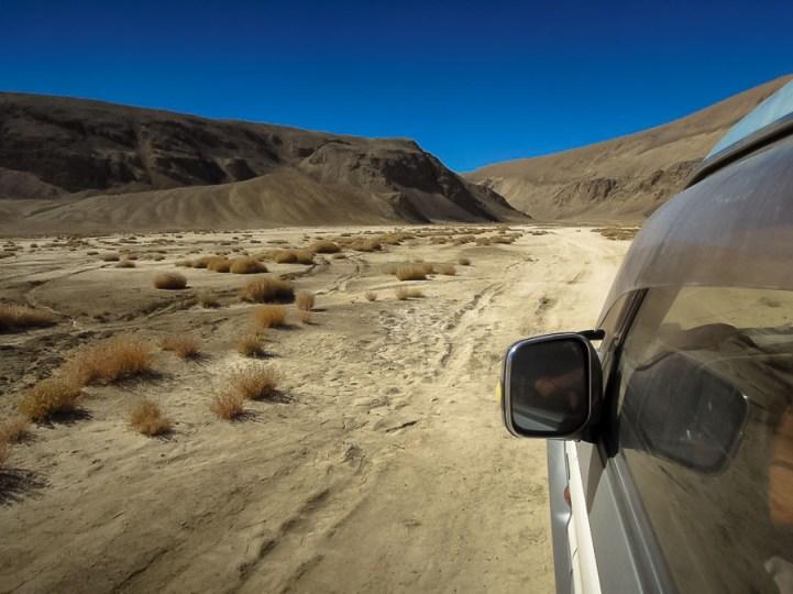 Auf dem Pamir-Highway