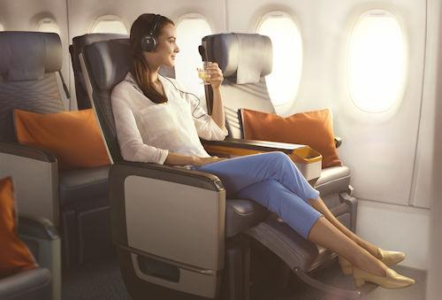 500 Premium Economy im A350