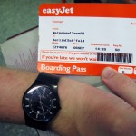 easyJet-Motto: If you're late, we won't wait. Wir waren pünktlich ...